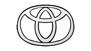 toyota prius logo como desenhar o símbolo da toyota emblema escudo how to draw
