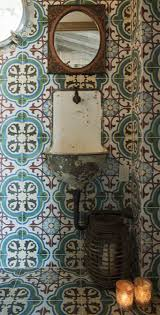 Moroccan Tiles Kitchen Backsplash by 298 Best Cement Tile Floors Walls Images On Pinterest Cement