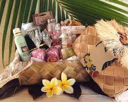 bath gift basket ultimate bath hawaiian gift basket
