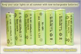 rechargeable aa batteries for solar lights solar light batteries your solar link blog