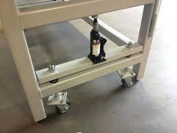 folding kitchen island work table kitchen work bench on wheels industrial workbench on wheels