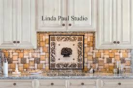 kitchen backsplash medallions kitchen backsplash medallions kitchen traditional with artistic