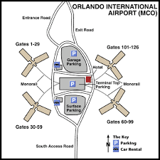mco terminal map orlando international airport mco terminal maps map of all