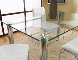 Rectangular Glass Top Dining Room Tables Glass Top Dining Room Tables Rectangular Photo Of Fine Glass Top