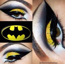 Batman Halloween Makeup by Batman Inspired Makeup Make Up Pinterest Makeup Character