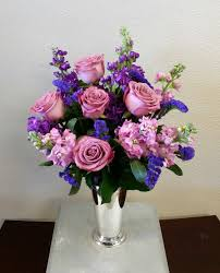 Lavender Roses Lavender Roses In A Silver Julep Cup In Las Vegas Nv Signature
