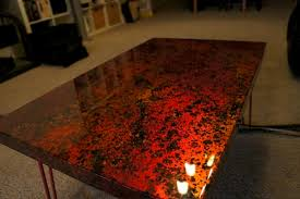 Hammered Copper Dining Table Copper Table Tops Copper Table