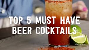 5 beer cocktails that will make your super bowl party a winner video