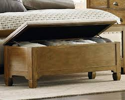storage benches for collection including bedroom cream maple wood