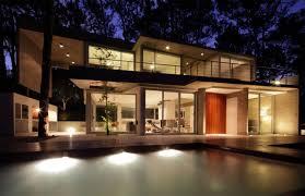 Modern Home Lighting Fresno House By Felix Raspall U0026 Federico Papandrea