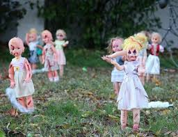 diy scary decorations front yard decoration ideas