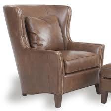 Reclining Wingback Chairs Contemporary Wingback Chair With Track Arms By Smith Brothers