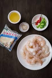 spicy prawns on crispy wontons eazy peazy mealz
