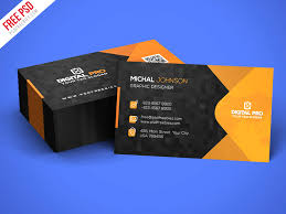 download corporate business card template free psd free psd now