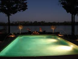 pool landscaping from aspen outdoor design