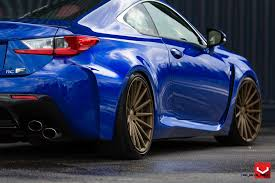 lexus rcf logo 2015 lexus rc f on vossen vfs2 satin bronze alloys