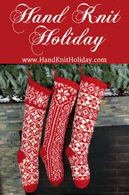 145 best hand knit holiday christmas stockings images on pinterest
