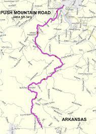 Arkansas Travel List images Roadrunner 39 s bucket list roads push mountain road aka arkansas png