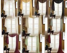 Drapes With Matching Valances Coffee Curtains Ebay