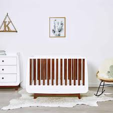 Nursery Furniture Set by Snuzkot Luxe 2 Piece Nursery Furniture Set In Espresso U2013 Natural
