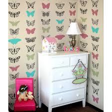 stencils for home decor butterflies allover stencil pattern butterfly stencil design for