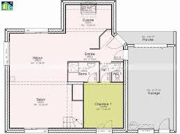 plan de maison avec 4 chambres plan de maison avec 4 chambres simple plan maison en l avec