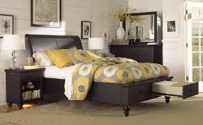 Napa Bedroom Furniture by Aspenhome Cambridge Sleigh Storage Bedroom Set In Black