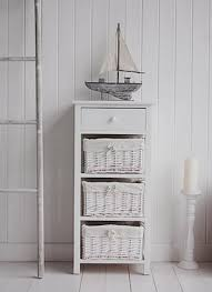 White Bathroom Storage Drawers White Bathroom Storage Form New Range Of Freestanding