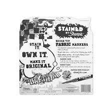excellent fashion tips that the professionals use amazon com sharpie stained fabric markers brush tip assorted