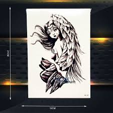 small angel wing tattoos on back compare prices on tattoos angel wings online shopping buy low