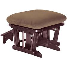 shermag glider rocker with ottoman u0026 coffee table cherry finish