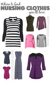 Work Clothes For Nursing Moms 8 Places To Buy Stylish Nursing Clothes Bottlesoup