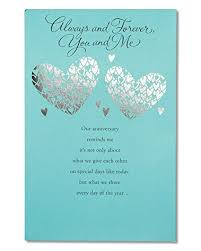 anniversary card american greetings greatest gift anniversary card with