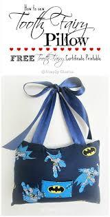 tooth fairy pillow u0026 free printable simply gloria