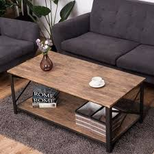 Wood And Metal Coffee Table Coffee Tables For Less Overstock Com