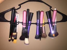 a easy diy to dry your makeup brushes after being cleaned all you need is