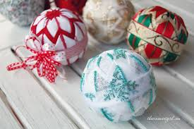 119 best quilted ball ornaments images on pinterest quilted
