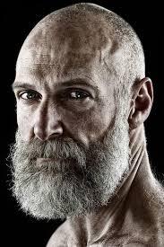haircut for older balding men with gray hair bald men 25 classy beard styles dedicated to bald men beard