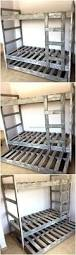 Build Your Own Wooden Bunk Beds by Wooden Pallets Are Conventionally Used For Shipping And Packing