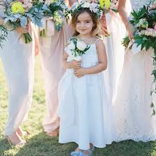 flower girl wedding 6 tips for choosing a flower girl dress martha stewart weddings