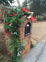 Brick Mailbox Flag Another Great Idea For A Domed Brick Mailbox Love The Bells And