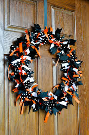Halloween Door Wreaths Prepossessing Halloween Outdoor Home Design Ideas Feat Outstanding