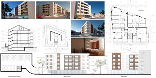 fine apartment building blueprints go back gt and inspiration