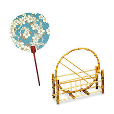 uchiwa fan japanese online shop south wind uchiwa fan blue frame fan