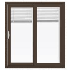 Jeldwen Patio Doors Shop Jeld Wen V 4500 71 5 In X 79 5 In Blinds Between The Glass
