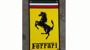 ferrari horse logo assorted ferrari items lot of 3 h40 harrisburg 2016