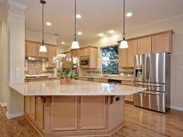 kitchen warm transitional kitchen brown kitchen wall cabinet