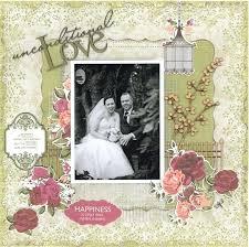 vintage wedding albums vintage scrapbook layouts heritage wedding albums kit citygates co