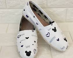 wedding shoes toms toms etsy