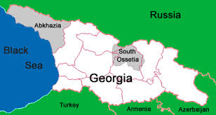 south ossetia map rfi a mountainous region torn between and russia